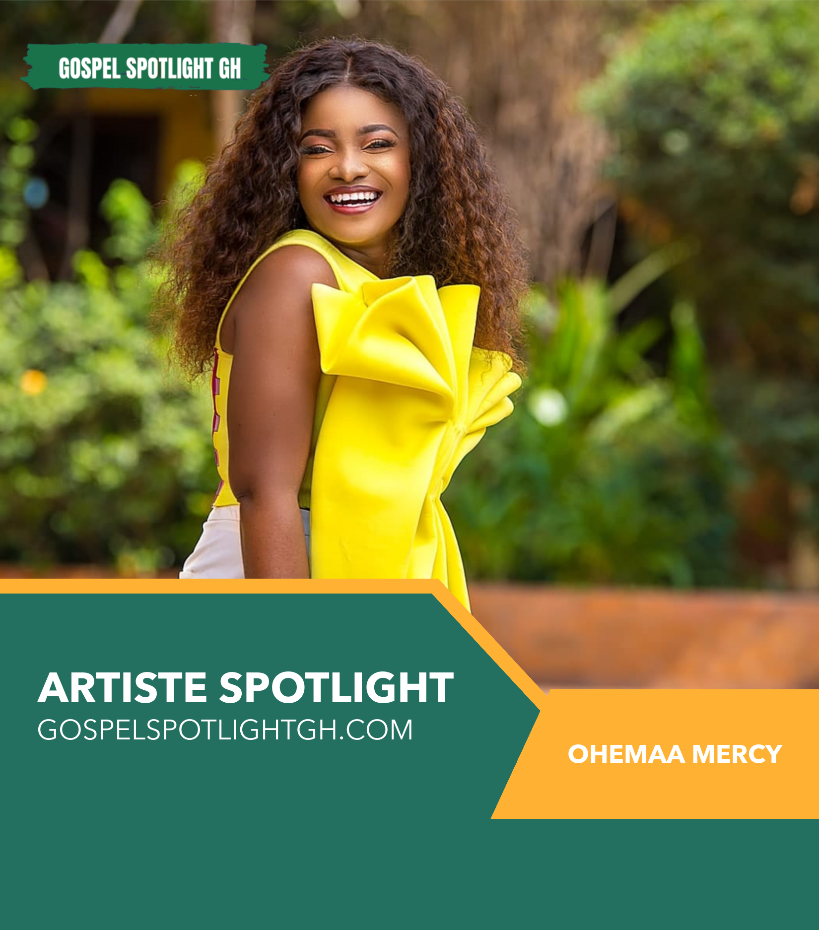 ARTIST SPOTLIGHT: Ohemaa Mercy Lifestyle, Ministry, Awards & Recognition